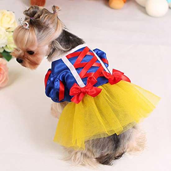 Snow White Dog costume