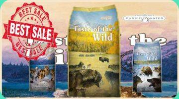 Taste of the Wild Dry Dog Food, High Prairie Canine Formula