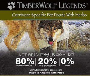 TimberWolf Wild and Natural Dog Food
