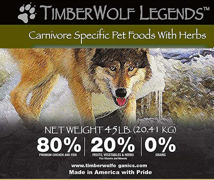 TimberWolf Wild and Natural Dog Food