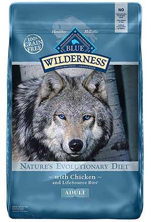 blue buffalo wilderness dog food