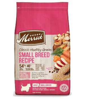 Merrick Classic Small Breed Recipe Adult Dry Dog Food