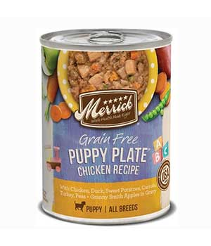 Merrick Grain-Free Puppy Plate Canned Dog Food