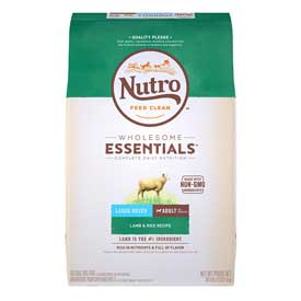 Nutro Wholesome Essentials Large Breed Adult Lamb & Rice
