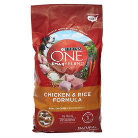 Purina One Smart Blend Chicken & Rice Adult
