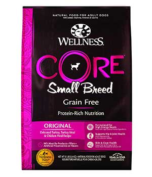 Wellness CORE Grain-Free Small Breed dog food