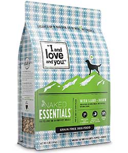 "I and love and you"" Naked Essentials Grain-Free Dry Dog Food"