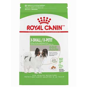 Royal Canin Size Health Nutrition X-Small dog food for Pomeranian